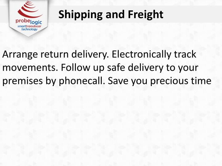 Shipping and Freight