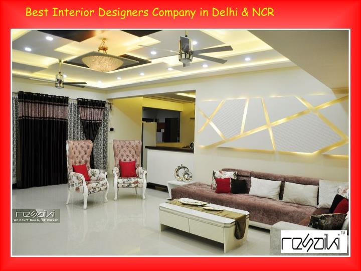 ppt top interior designers in delhi ncr powerpoint presentation