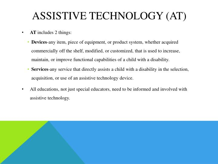 Assistive technology at1