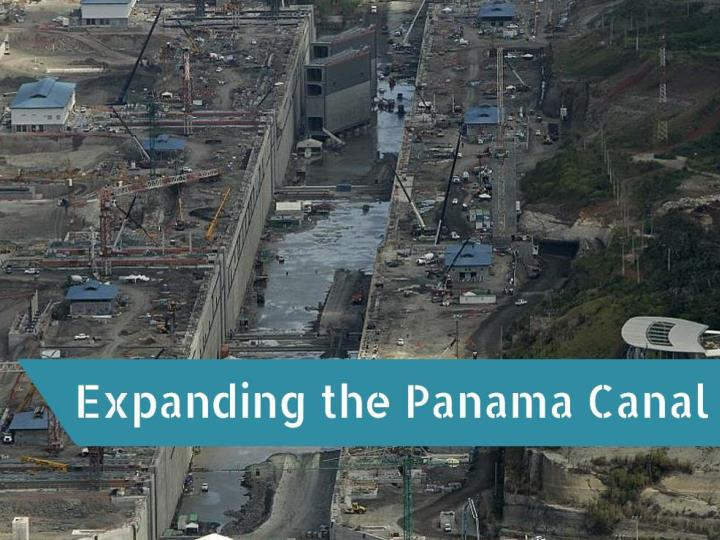 expanding the panama canal n.