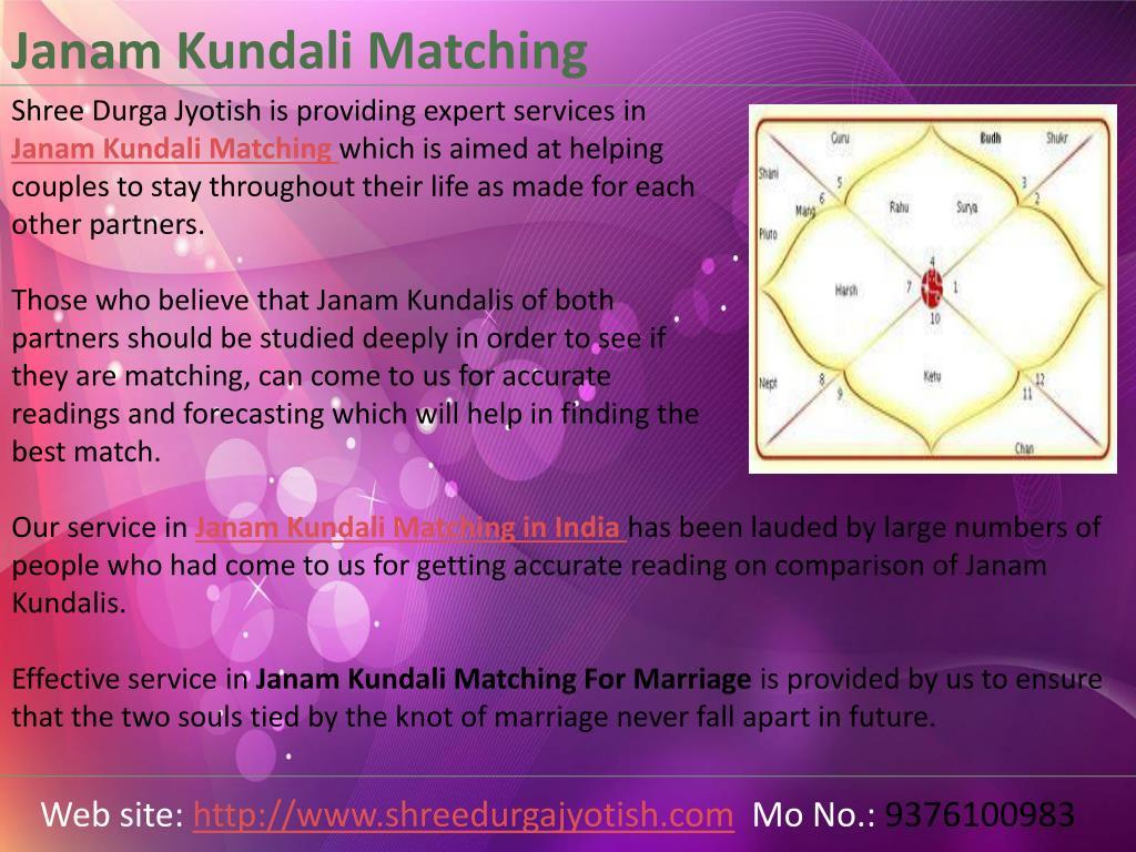 PPT - Janam Kundali Matching in India   Janam Kundali