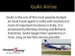 goair airline