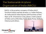 the nationwide airplane organization of india nacil