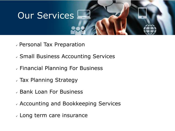 you have a small tax accounting preparation and bookkeeping practice