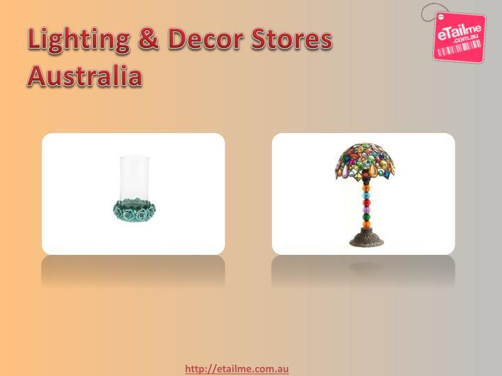 Lighting & Decor Stores Australia