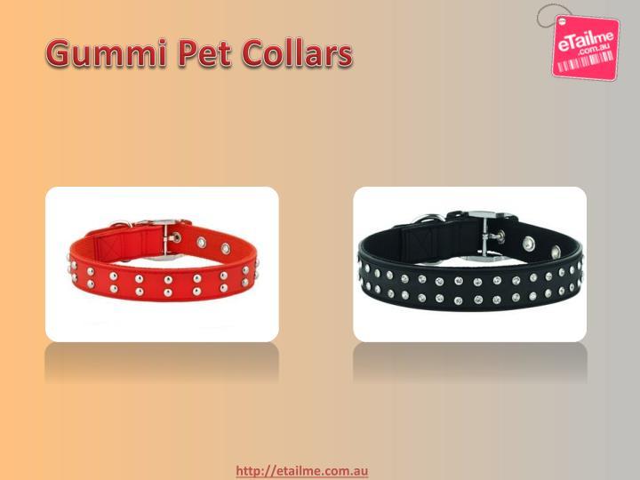 Gummi Pet Collars
