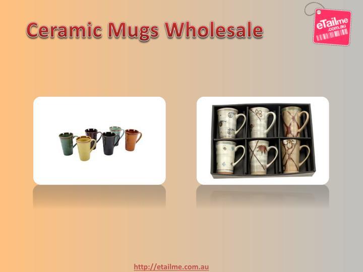 Ceramic Mugs Wholesale