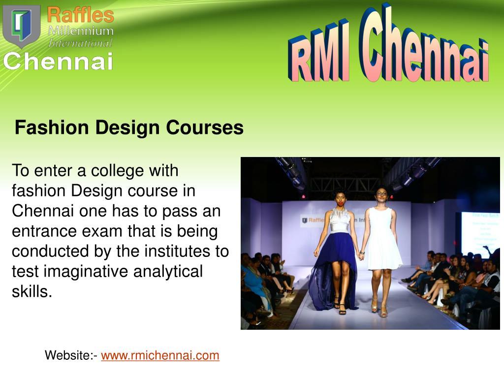 Ppt Best Fashion Designing College Institutes In Chennai Powerpoint Presentation Id 7136018