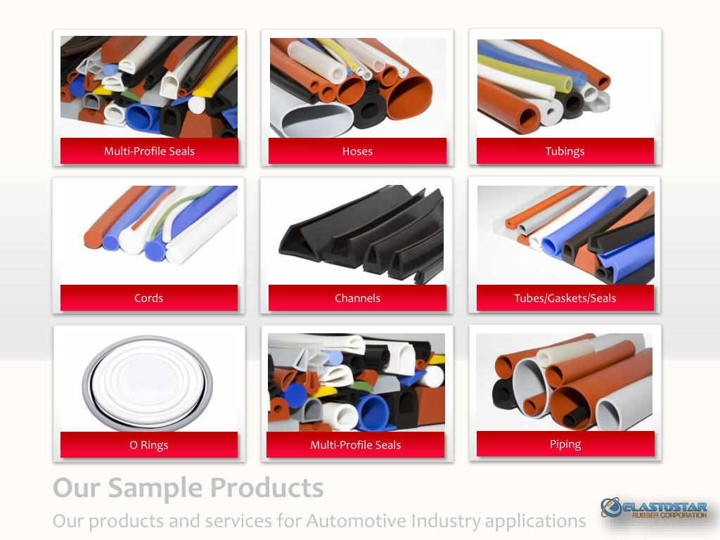 PPT - Silicone Rubber for AutoMobile Company PowerPoint Presentation