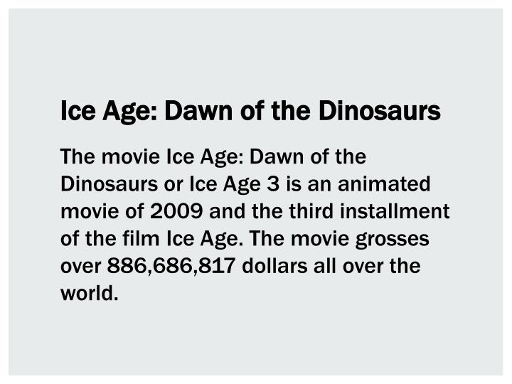Ice Age: Dawn of the