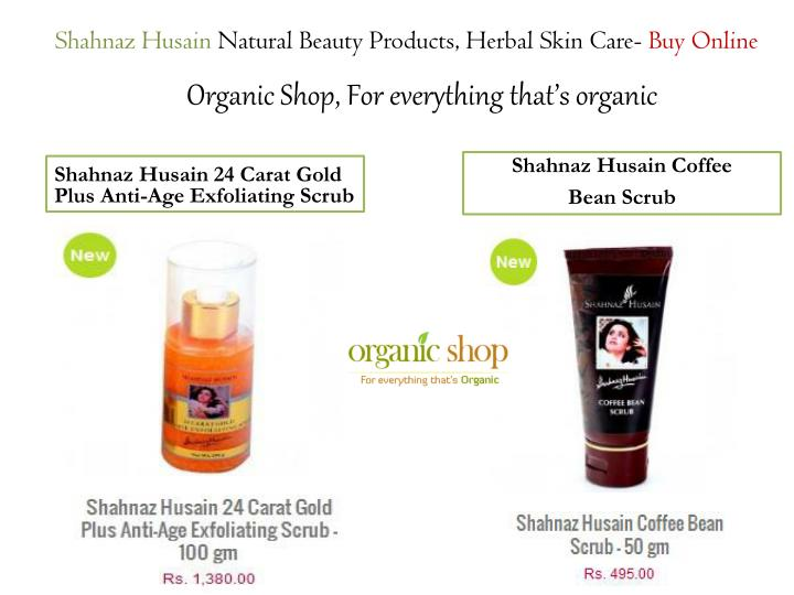 Shahnaz husain natural beauty products herbal skin care buy online