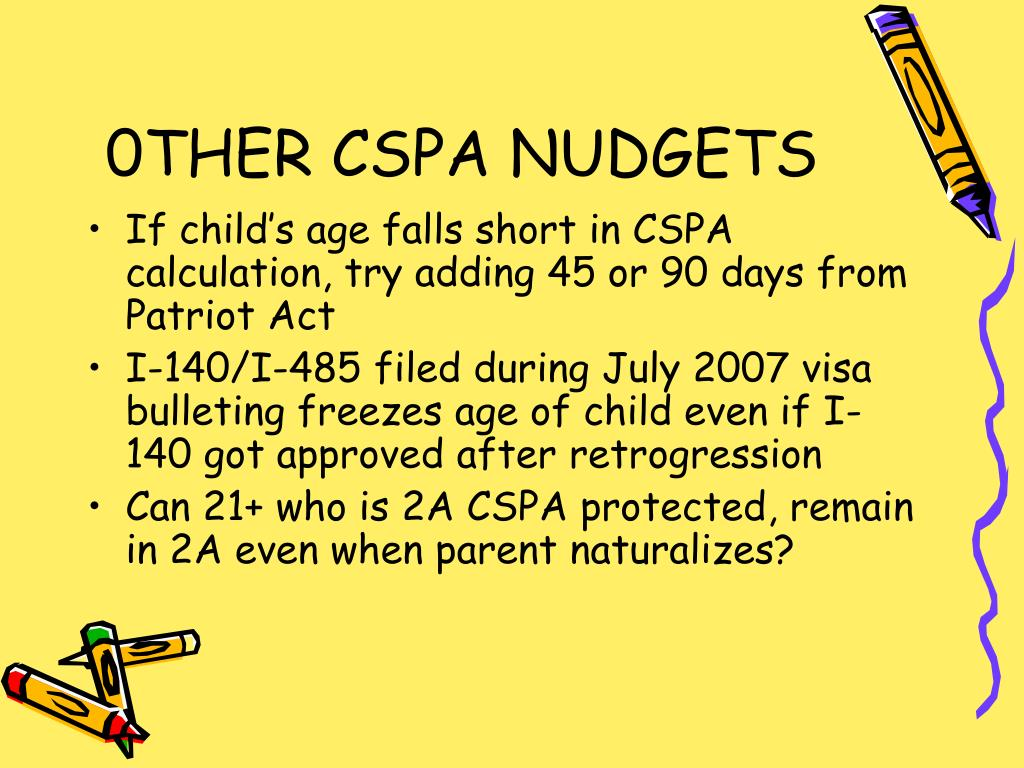 PPT - The Child Status Protection Act and Child Citizenship Act