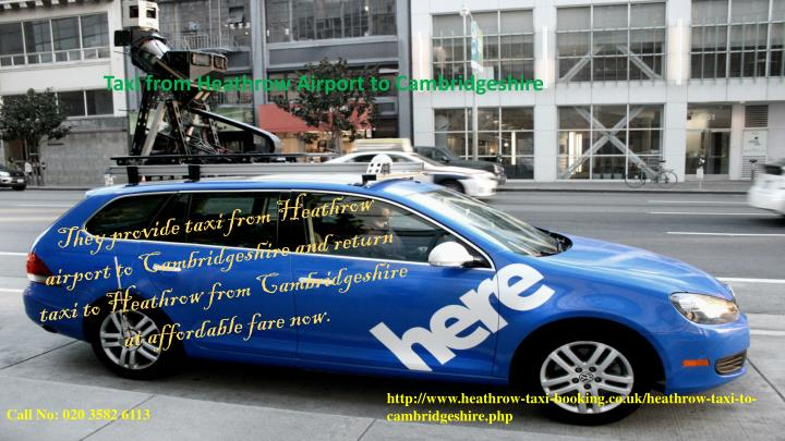 Taxi from Heathrow Airport to