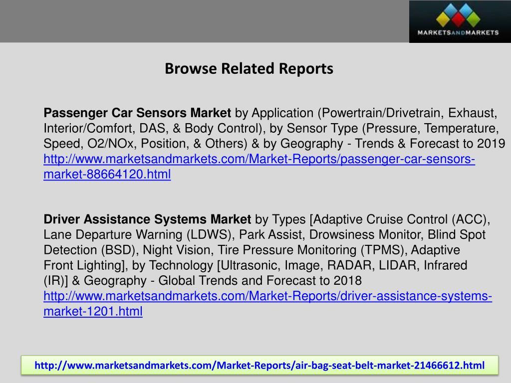 PPT - Automotive Airbag Market worth $23 6 Billion