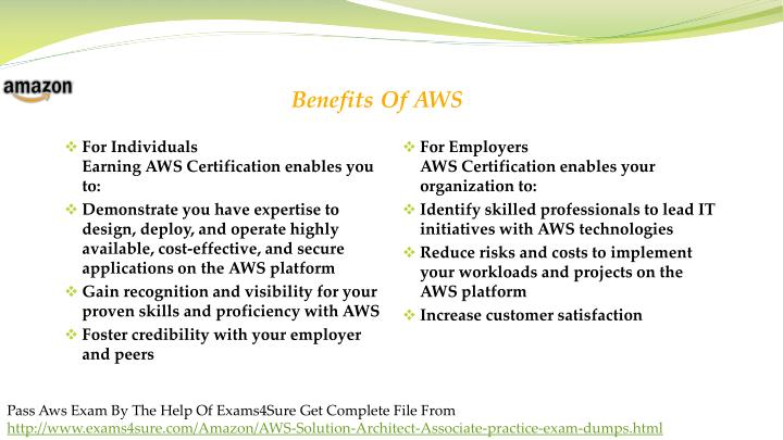PPT - AWS CERTIFIED SOLUTIONS ARCHITECT Exam Questions Answers ...