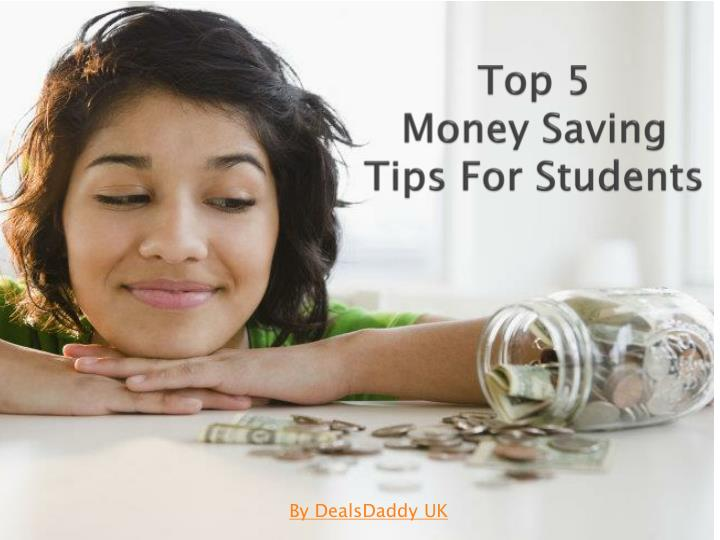 Top 5 money saving tips for students
