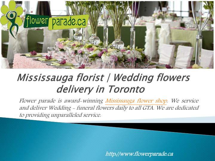 mississauga florist wedding flowers delivery in toronto n.