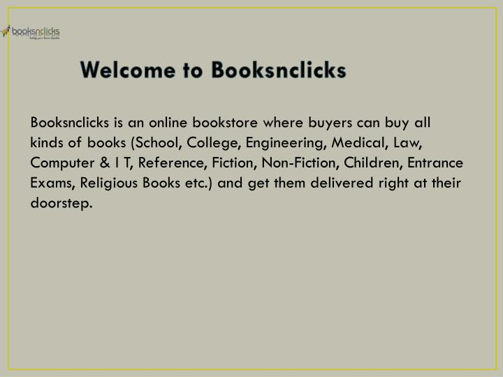 Welcome to booksnclicks