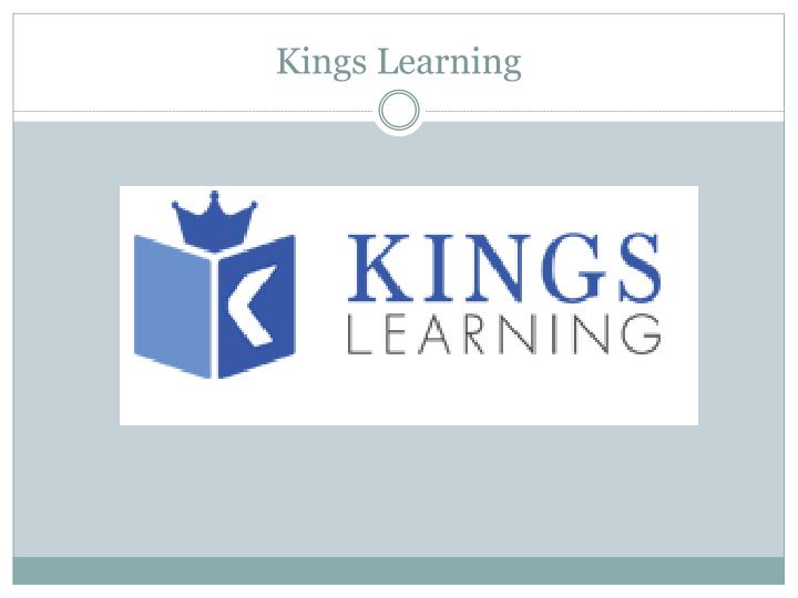 kings learning n.