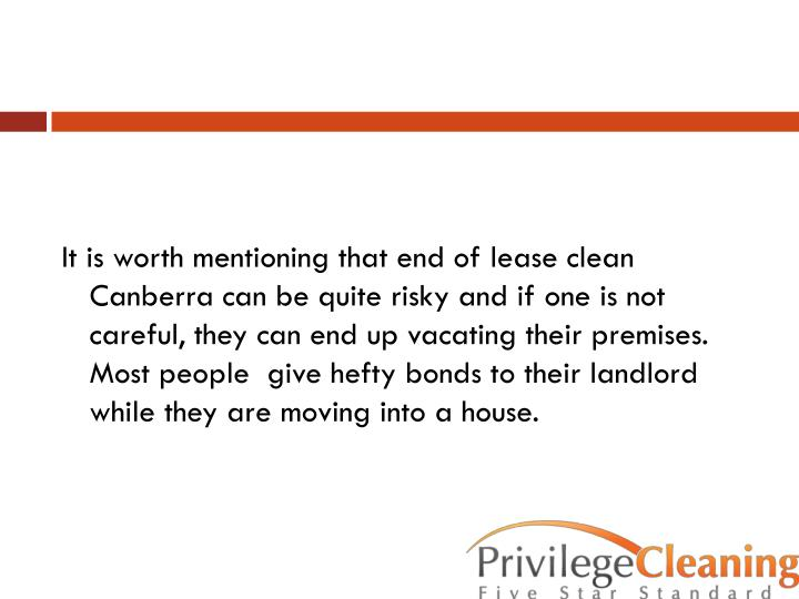 Ppt Tips For End Of Lease Clean Canberra Powerpoint
