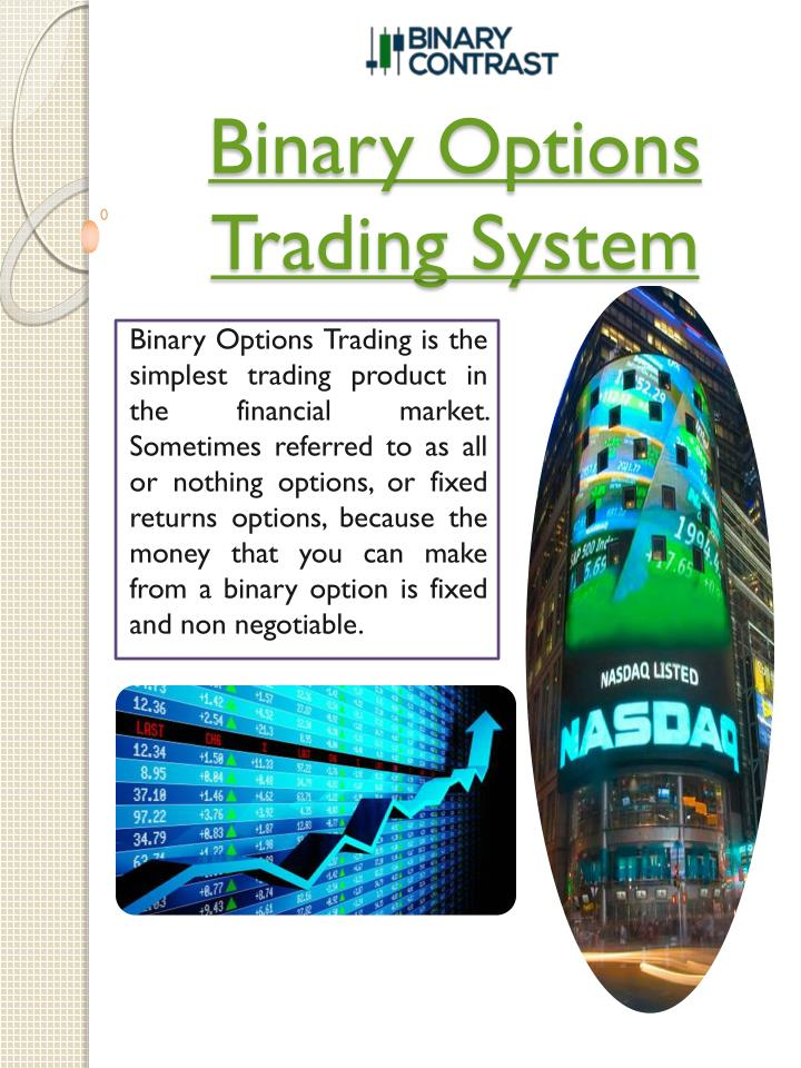 binary options trading system n.