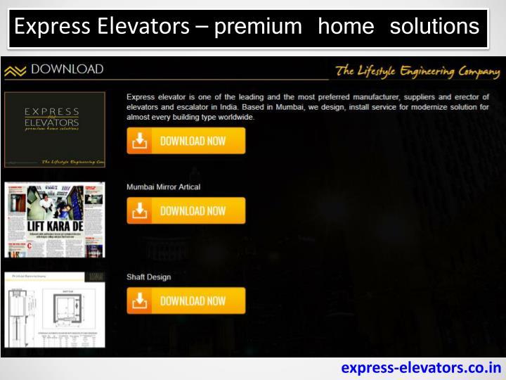 Express Elevators –