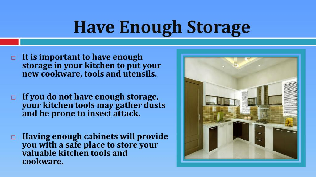 Ppt Useful Tips In Making Your Kitchen Stand Out