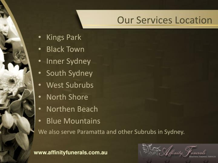 Our Services Location