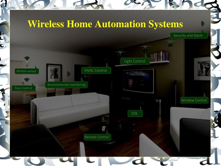 Wireless home automation systems
