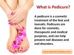 what is pedicure