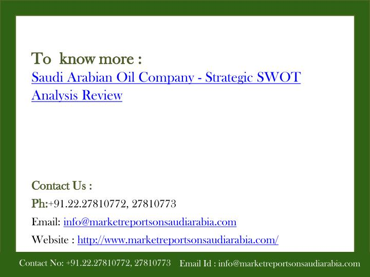 swot analysis shell oil company