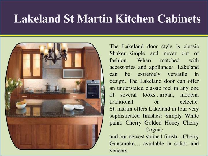 Lakeland st martin kitchen cabinets