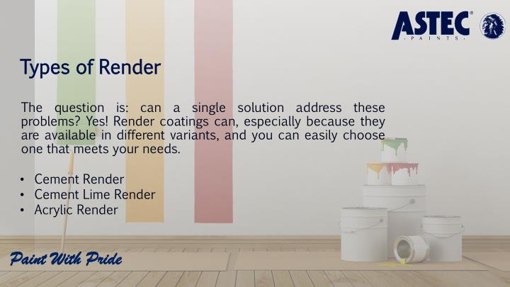 Types of Render