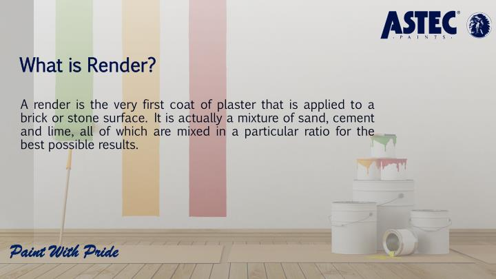 What is render