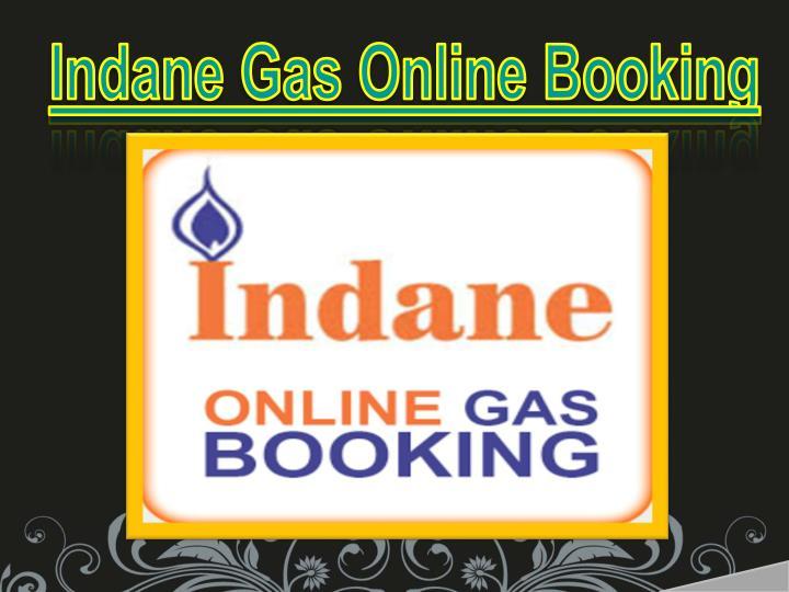 Indane Gas Online Booking