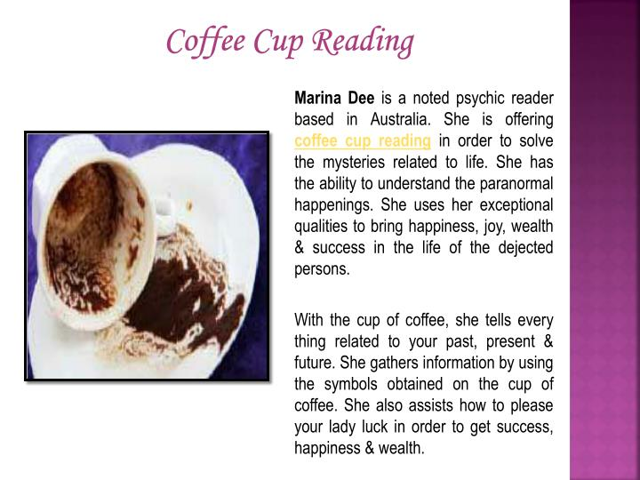 Coffee Cup Reading