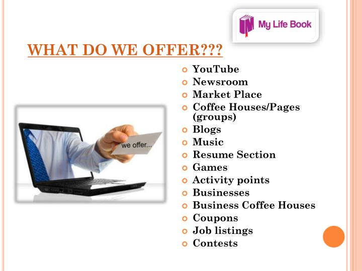What do we offer