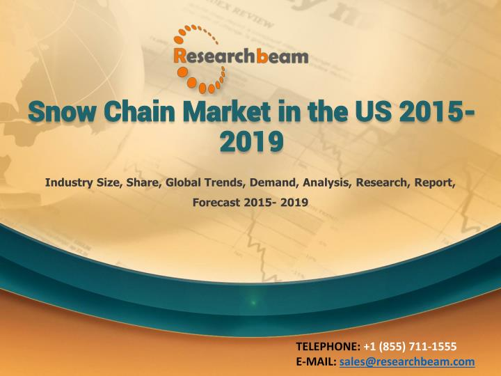 snow chain market in the us 2015 2019 n.