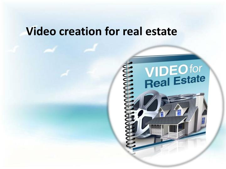 video creation for real estate n.