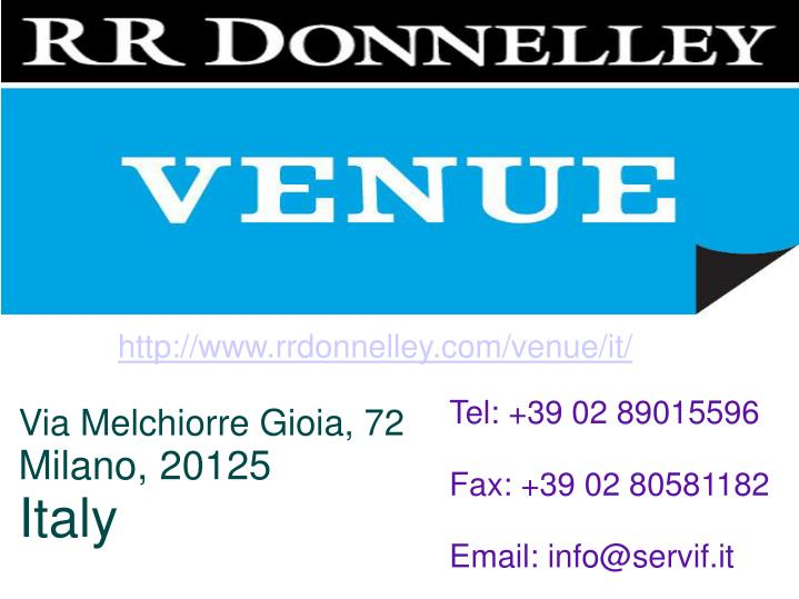 http://www.rrdonnelley.com/venue/it/