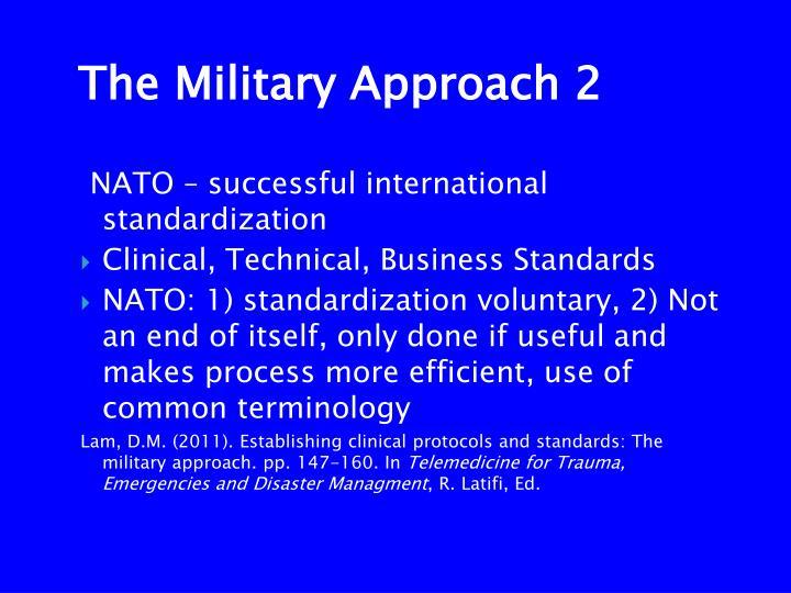 NATO – successful international standardization