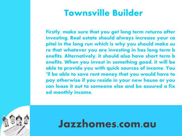 Townsville builder