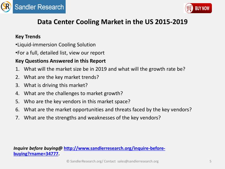 data center cooling market in us The data center cooling market is driven by factors such as the growing need to improve the overall data center efficiency, reduce additional heat generated by increased data center power densities, and increase focus on developing cost effective and eco-friendly data centers solutions.