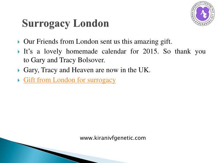 Surrogacy london