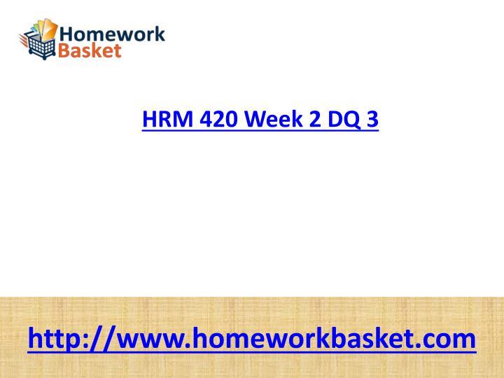 hrm 300 week 2 dq 3