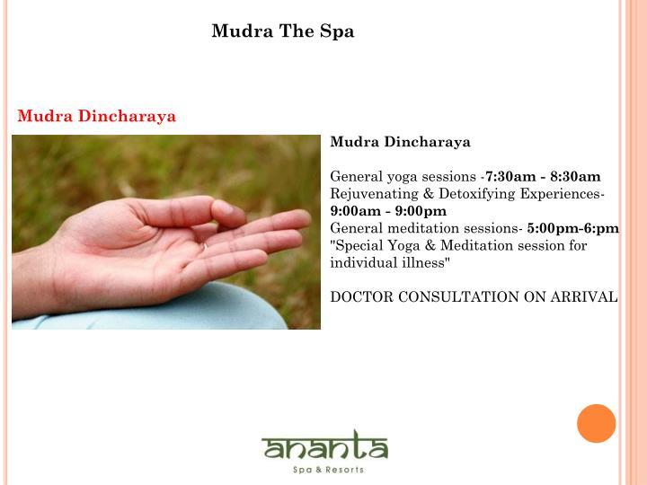 Mudra The Spa