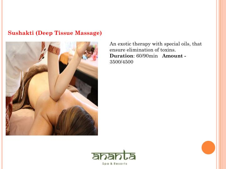 Sushakti (Deep Tissue Massage)