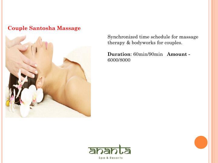Couple Santosha Massage