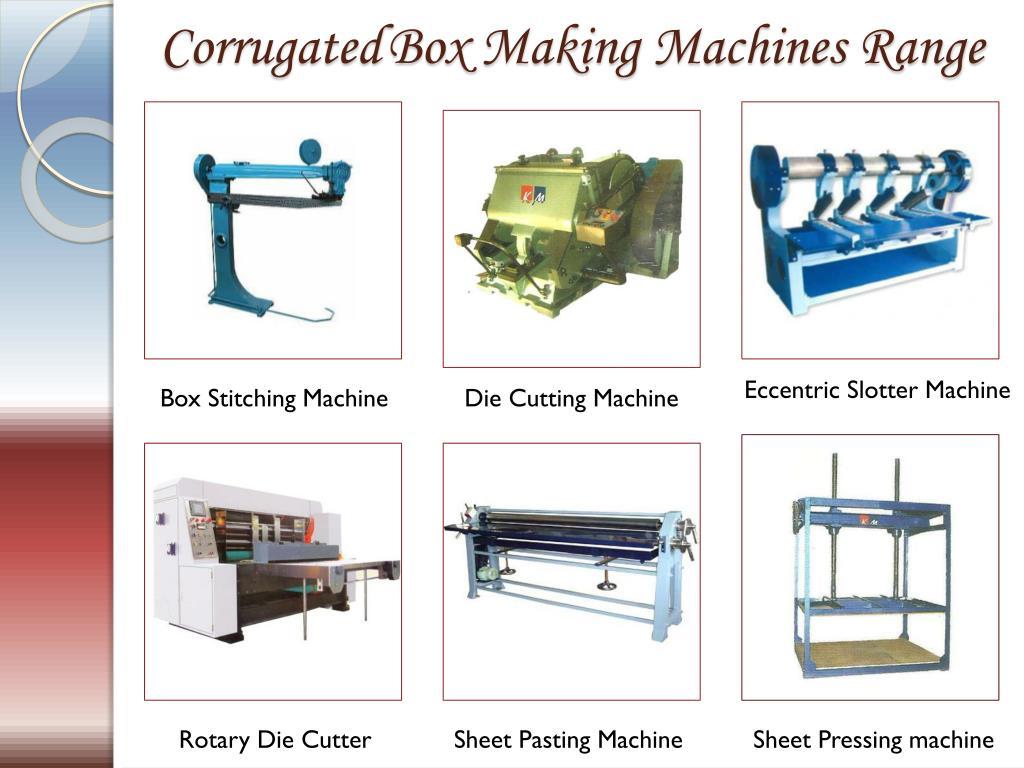 PPT - Corrugated Box Making Machine Manufacturers Suppliers