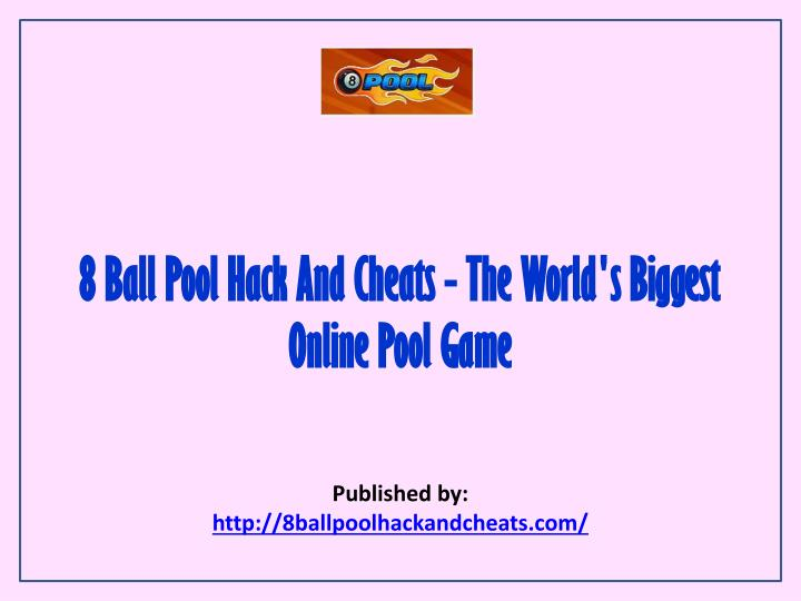 8 ball pool hack and cheats the world s biggest online pool game n.